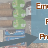 An emergency food prepping guide