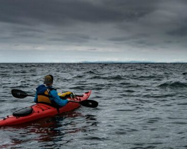 Survival kayaking has become a reality now that you can assemble and collapse your kayak in minutes and carry it on your back