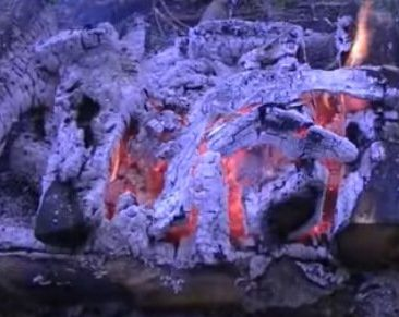 Learn how to make a long burning campfire