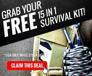 The survival grenade is a compact survival kit that includes 15 essential survival items